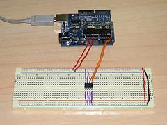 Placa de prototipado o proto board.